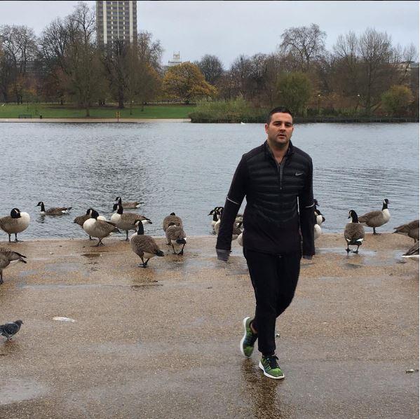 אורן קובי בהייד פארק לונדון